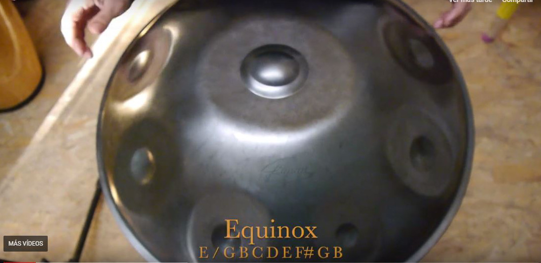 Equinox escala de Handpan